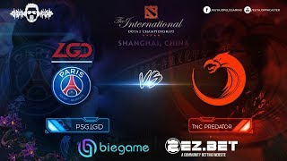 TNC Predator vs PSG.LGD Game 1 and 2  | Best of 2 | Group Stage | The International 9