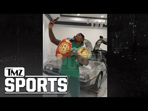 Boxing Champ Jermall Charlo Decorates New Mansion With In-Home DeLorean! | TMZ Sports