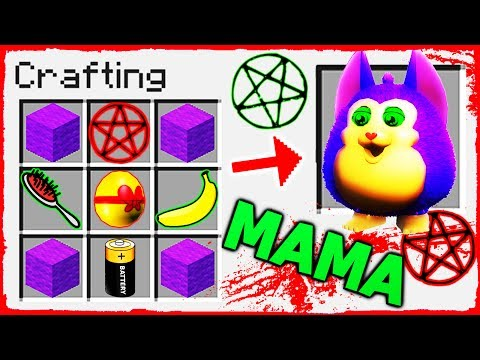 Minecraft FNAF - How to Summon TATTLETAIL in Crafting Table!