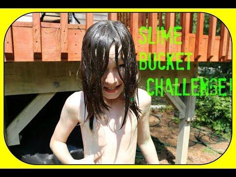 Slime Bucket Challenge!!