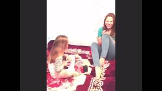 Прикол Девочка матерится)) девочка научилась материться у бабушки