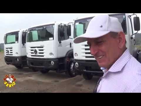 Prefeito Ayres Scorsatto fala sobre a Conquista de 3 Caminhões para a Coleta de Lixo de Juquitiba