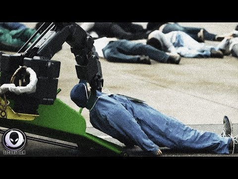 """Human-Eating"" Robots Secretly Deployed? Skynet Lives (Video)"