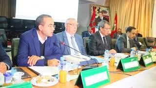 كلمة السيد سعيد باعزيز خلال الدورة 12 للمجلس الاداري للوكالة الحضرية إقليم الناظور