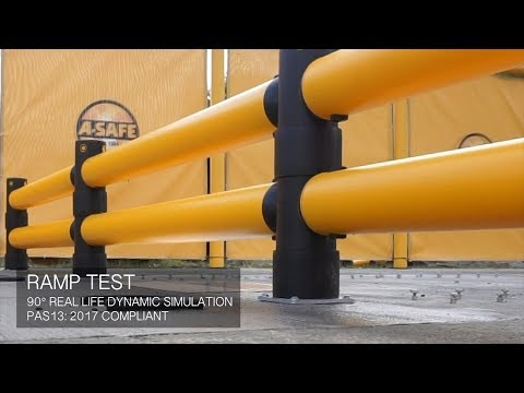 Ramp test: Atlas Double Traffic Barrier