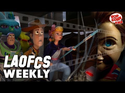 LAOFCS Weekly: Favorite Pixar Movies, Toy Story 4 Review & Chucky's new Child's Play