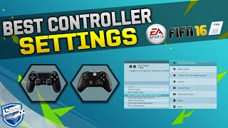 FIFA 16 BEST CONTROLS TUTORIAL / Best Controller Settings for XBOX & PLAYSTATION