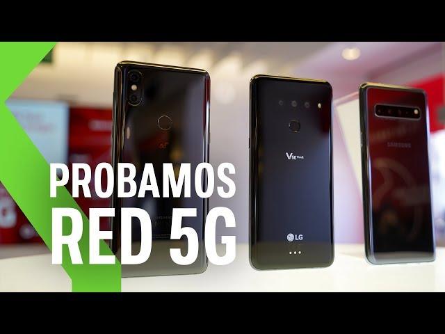 Probamos el 5G de Vodafone: así es NAVEGAR DESDE EL MÓVIL a 800 Mbps