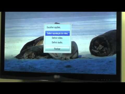 Reproduzir conteúdos multimédia no televisior
