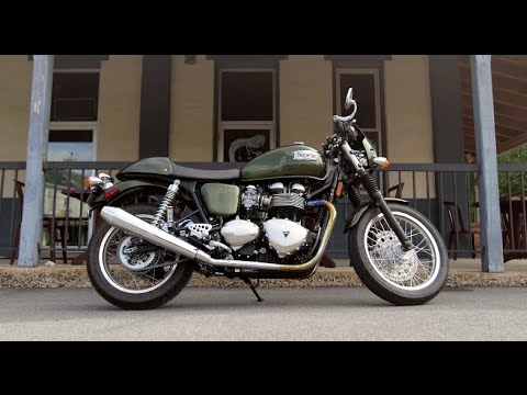 Triumph Thruxton Review at RevZilla.com