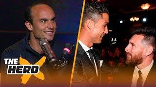 Messi vs Ronaldo: Landon Donovan picks who will triumph in 2018 FIFA World Cup™   SOCCER   THE HERD