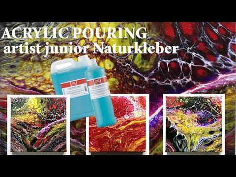 artist junior Naturkleber von Gerstaecker (Wie man damit arbeitet)