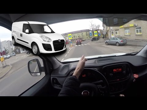 Fiat Doblo Cargo Фургон класса M - тест-драйв 4