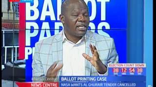 Ballot printing row and IEBC voter verification