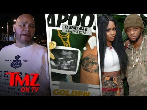 [TMZ] Fat Joe Congratulates Papoose On His Baby Tattoo