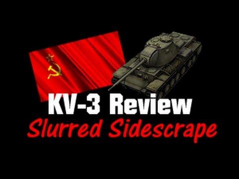 KV-3 LIVE Gameplay Review - Slurred Sidescrape || World of Tanks