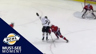 Must See Moment: Matteo Turrin beats the defence with a dangle and scores