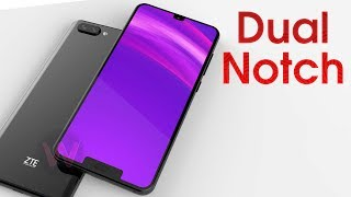 First Look of ZTE Dual Notch Smartphone!