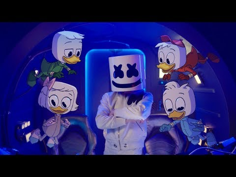 Marshmello X Ducktales Fly Music Video