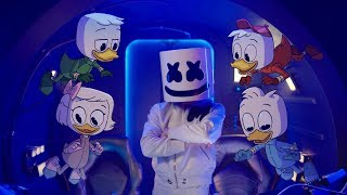 Marshmello X DuckTales   FLY (Music Video)