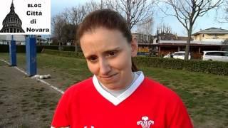 preview picture of video 'Rugby Novara, primo allenamento squadra femminile'