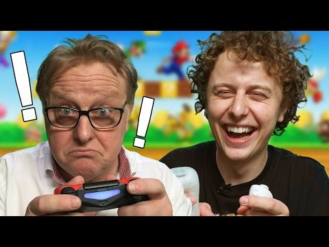 Hraji videohry se svým tátou