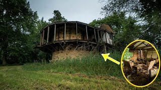 AMAZING ABANDONED 1970s SILO HOUSE - AMERICAS WEIRDEST HOMES