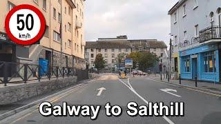 Dash Cam Ireland - Galway City To Salthill