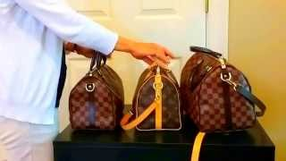 Which Size Louis Vuitton Speedy Bandouliere Should you Buy?