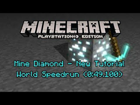 Obtain a Diamond - Minecraft World Record (0 433s) - Xade - Video