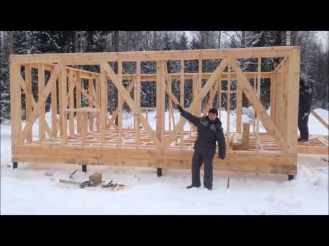 W.S. 0.2. Строительство каркасного дома. Технология. Особенности. WooDSTock