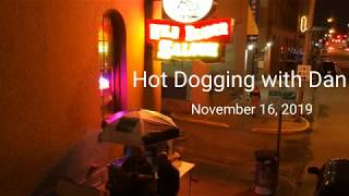 Hot Dog Cart | Cold Weather Doesnt Scare The Bar Crowd!!!