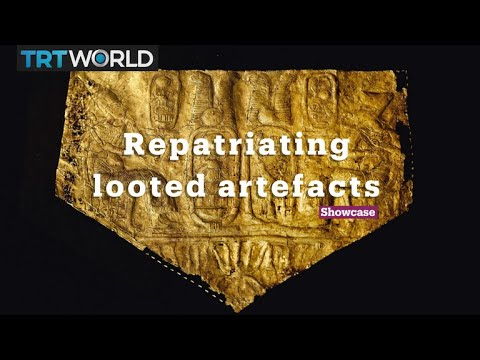 Repatriating looted artefacts   Culture   Showcase