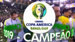Coração Verde Amarelo   Copa América 2019