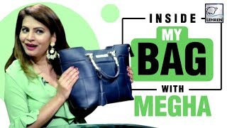 Inside My Bag With Megha Dhade | Bigg Boss 12 | EXCLUSIVE
