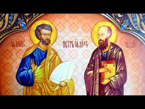 Молитва апостолам Петру и Павлу. Во времена неопределённости и испытаний