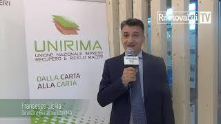 Riciclo Carta – Francesco Sicilia – Direttore Generale UNIRIMA