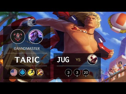 Taric Jungle vs Lee Sin - NA Grandmaster Patch 9.20