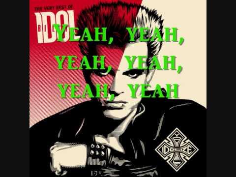 Billy Idol - Mony Mony (Lyrics)
