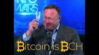Roger Ver Full Episode on Infowars with Alex Jones  Bitcoin Cash BCH