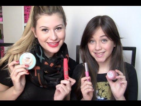 Maquiagem pré-adolescente