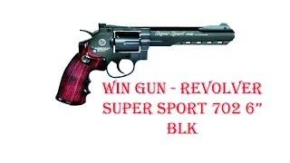 [ОБЗОР] WIN GUN - REVOLVER SUPER SPORT 702 6
