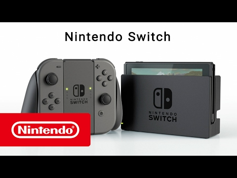 Nintendo Switch - Grau (DE, FR, IT, EN)