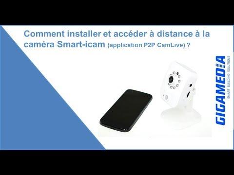 Caméra IP Wi-Fi résidentielle 1 MP