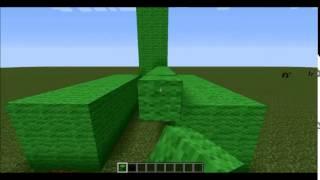 MineCraft Heykel Yapımı Creeper Yapımı Bölüm 3