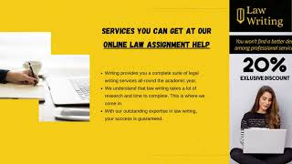 Get Law Writing Services in UK