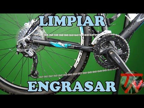 Limpiar transmision de bicicleta y engrasar cadena 🚴🏼