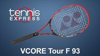 Ρακέτα τέννις Yonex VCore Tour F 93 video