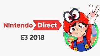 Sonic同大家一齊睇Nintendo發佈會! | E3 2018!
