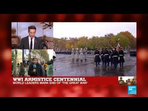 WWI armistice centennial: cities all over France commemorate armistice